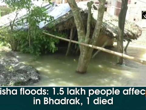 Odisha floods: 1.5 lakh people affected in Bhadrak, 1 died