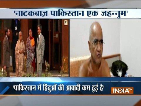 India is a safe heaven for Muslims: Jain Muni Tarun Sagar