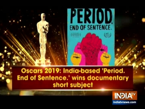 """""""Period. End of Sentence"""" a film set in India wins an Oscar in Documentary Short Subject category"""