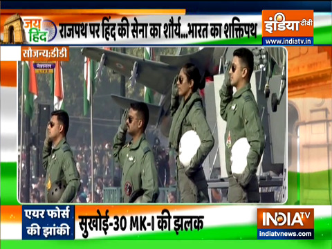 Republic Day 2021: Indian Air Force tableau at Rajpath