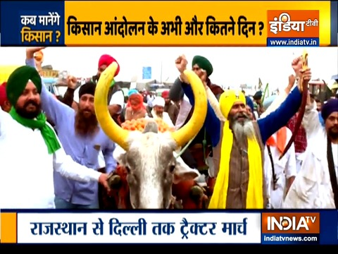 Farmers from Rajasthan to begin 'Delhi Chalo' march via Jaipur highway today