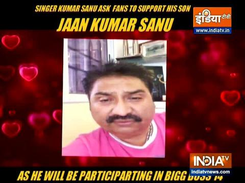 Kumar Sanu on son Jaan participating in Bigg Boss 14