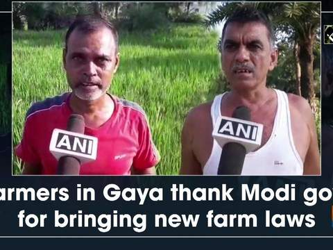 Farmers in Gaya thank Modi govt for bringing new farm laws