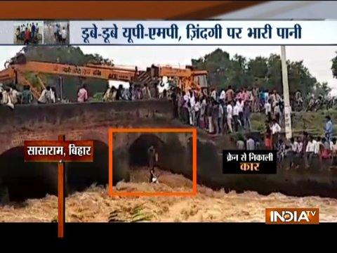 Watch a special show on floods in nearly 100 districts of five states