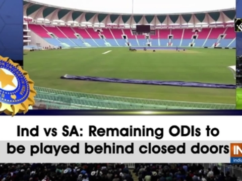 Ind vs SA: Remaining ODIs to be played behind closed doors