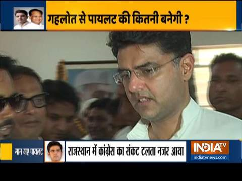 Sachin Pilot returns to Congress after meeting Rahul, Priyanka