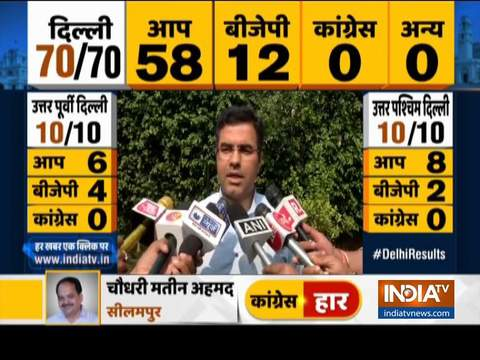 We accept the result, will work hard and give better performance in next elections: BJP MP Parvesh Verma