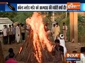 Karauli priest case: Family performs last rites of victim
