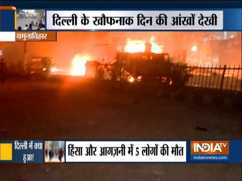 CAA Protest: Capital remains on edge as 5 die in fresh clashes in parts of Delhi