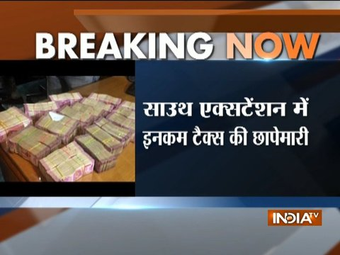 Delhi: I-T Dept seizes cash, gold worth Rs 15 cr from private vault