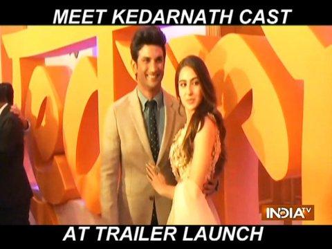 केदरानाथ ट्रेलर लॉन्च के मौके पर सारा अली खान का अंदाज था देखने लायक, आप भी देखें वीडियो