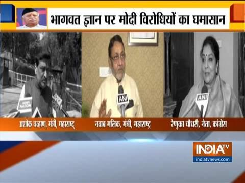 Bhagwat's statement has proved that PM Modi is walking on Hitler's path: Nawab Malik