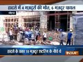 Scaffolding of underconstruction building collapses in Noida, 4 workers dead
