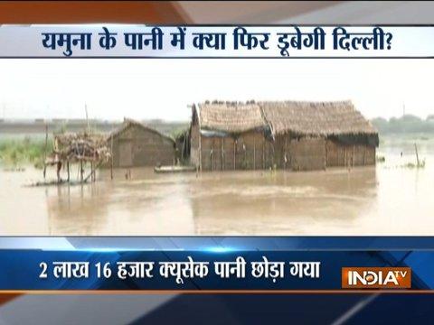 भारी बारिश के बाद हिमाचल में लैंडस्लाइड, दिल्ली में यमुना का जलस्तर बढ़ा