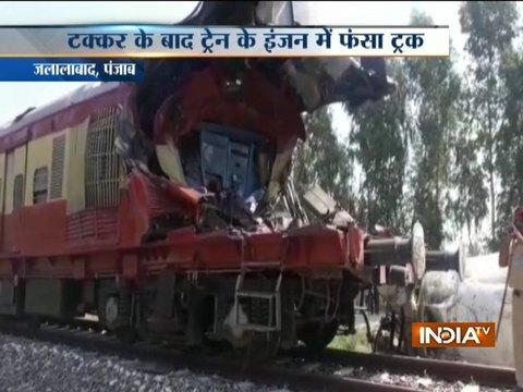 Train rams into truck at unmanned crossing in Fazilka; 1 dead
