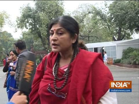 शर्मनाक है राहुल गांधी की 'रेप इन इंडिया' टिप्पणी: बीजेपी सांसद रूपा गांगुली