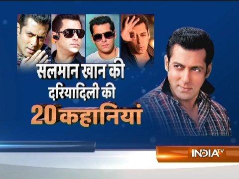 20 stories about Salman Khan