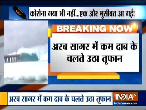 Cyclone Nisarga: IMD issues red alert for Maharashtra
