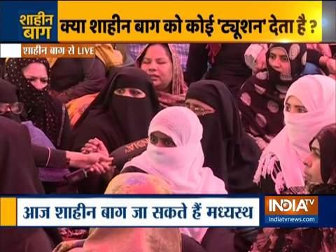 शाहीन बाग प्रदर्शनकारियों ने SC के मध्यस्थों से पहले इंडिया टीवी से की बात