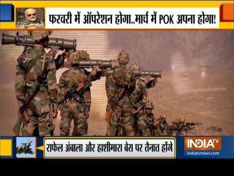Special Report: Indian Army prepared to capture PoK