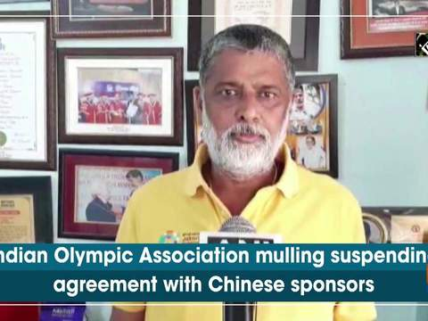Indian Olympic Association mulling suspending agreement with Chinese sponsors