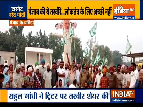BJP leader JP Nadda attacks Rahul Gandhi after Punjab farmers burn effigies of PM Modi
