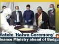 Watch: 'Halwa Ceremony' at Finance Ministry ahead of Budget