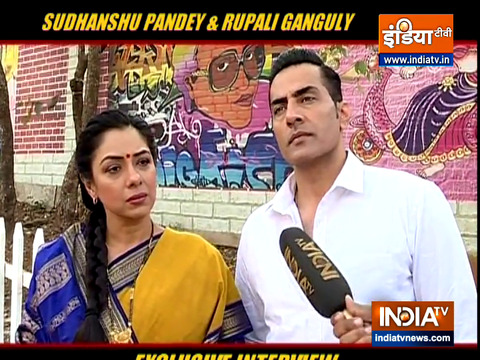 Anupamaa   Actor Sudhanshu Pandey and Rupali Ganguly exclusive interview