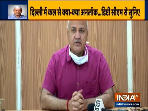 दिल्ली सरकार ने केंद्र से सहायता के रूप में 5,000 करोड़ रुपये की मांग की है: मनीष सिसोदिया