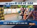 Man takes his bride on a JCB ride in Karnataka