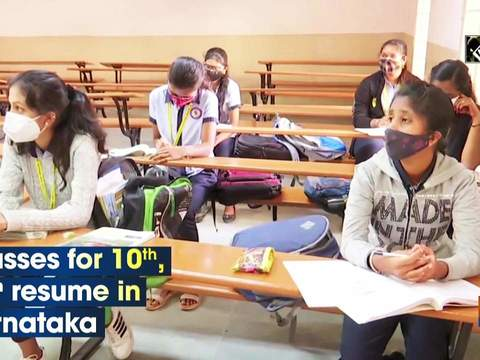 Classes for 10th, 12th resume in Karnataka