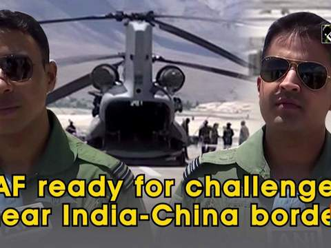 IAF ready for challenges near India-China border