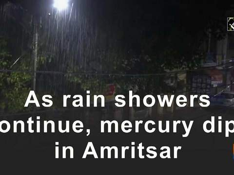 As rain showers continue, mercury dips in Amritsar