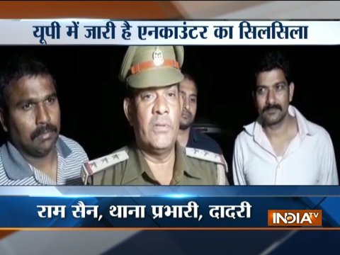 Wanted criminal arrested after encounter held in Greater Noida