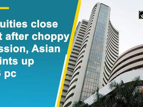 Equities close flat after choppy session, Asian Paints up 4.6 pc