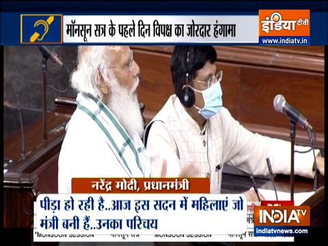 Special News: PM Modi slams Opposition for disrupting speech in Lok Sabha