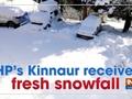 HP's Kinnaur receives fresh snowfall