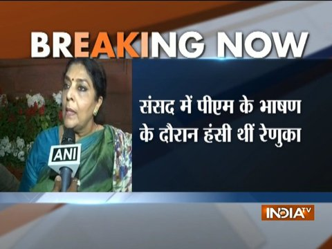 Congress unhappy with Renuka Chowdhury for laughing during PM Modi's speech in RS: Sources