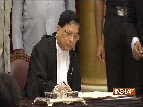 Opposition leaders meet to discuss impeachment motion against CJI Dipak Mishra