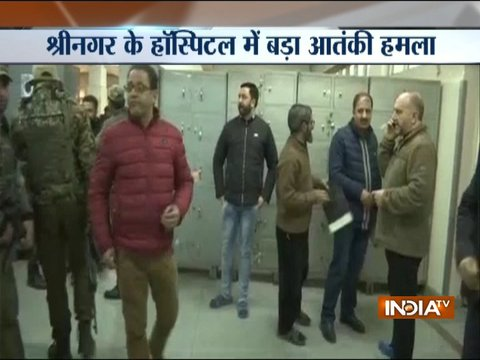 Terrorists fire shots inside Shri Maharaja Hari Singh hospital in Jammu and Kashmir's Srinagar