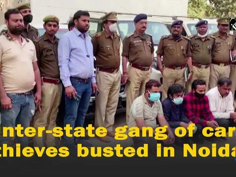 Inter-state gang of car thieves busted in Noida