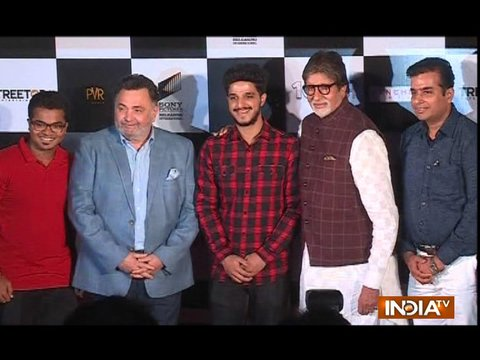 Amitabh Bachchan and Rishi Kapoor launch 102 Not Out Badumba song in Mumbai