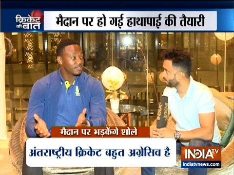 भारत दौरे पर फिर विराट कोहली से टकराने को तैयार कगीसो रबाडा