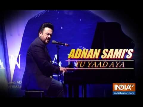 Adnan Sami launches new song 'Tu Yaad Aya' featuring Adah Sharma