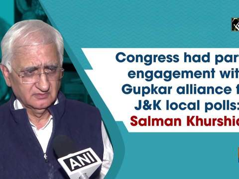 Congress had partial engagement with Gupkar alliance for J&K local polls: Salman Khurshid