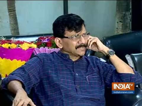 शिवसेना प्रवक्ता संजय राउत का बड़ा बयान, कहा महाराष्ट्र में शिवसेना के नेतृत्व में ही बनेगी सरकार