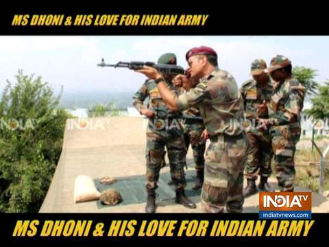 MS Dhoni and his love for Indian Army