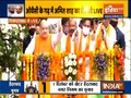 GHMC polls: Amit Shah holds roadshow in Hyderabad's Old City