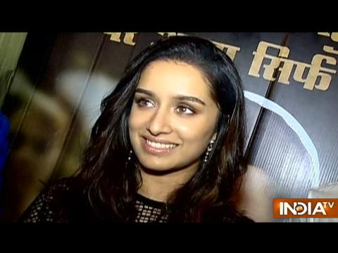 It was an intense portrayal: Shraddha Kapoor talks about her character in Haseena Parkar