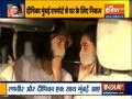 Actress Deepika Padukone along with her husband Ranveer Singh reaches Mumbai